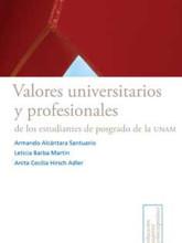 12 Valores universitarios y profesionales de los estudiantes de posgrado de la UNAM