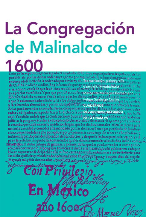 La congregación de Malinalco de 1600