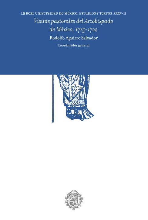 Visitas pastorales del Arzobispado de México, 1715-1722. Vol. 2